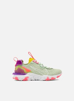 Nike - WMNS React Vision, Pistachio Frost/White/Vivid Purple