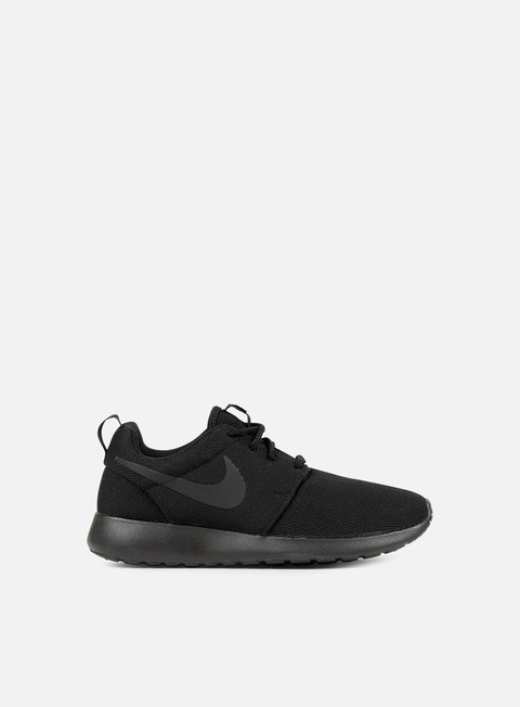 sneakers nike wmns roshe one black black dark grey
