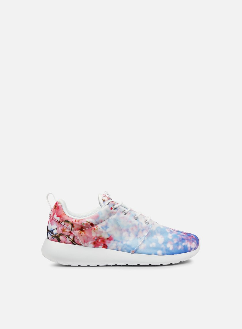 Nike - WMNS Roshe One Cherry Blossom, White/Pure Platinum