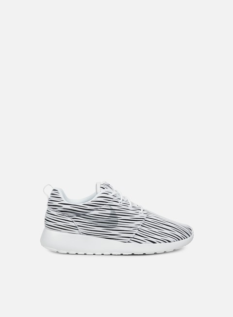 sneakers nike wmns roshe one eng white wolf grey black