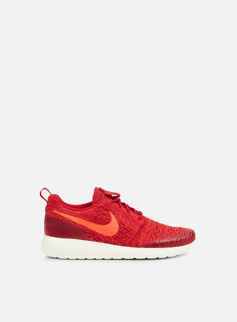 sneakers nike wmns roshe one flyknit gym red bright crimson team red