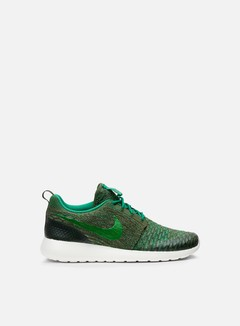 Nike - WMNS Roshe One Flyknit, Rough Green/Lucid Green/Mica Green