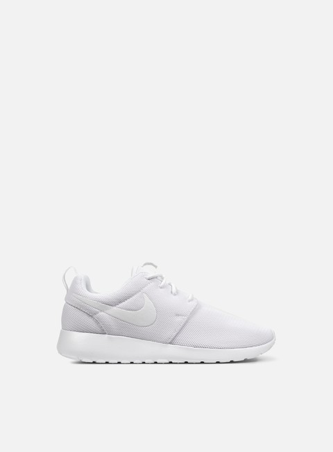 sneakers nike wmns roshe one white white pure platinum