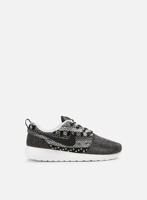 sneakers nike wmns roshe one winter black black sail