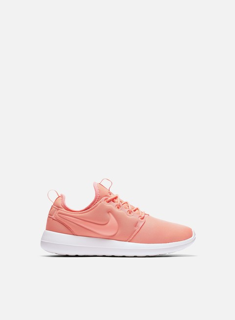 sneakers nike wmns roshe two atomic pink sail turf orange
