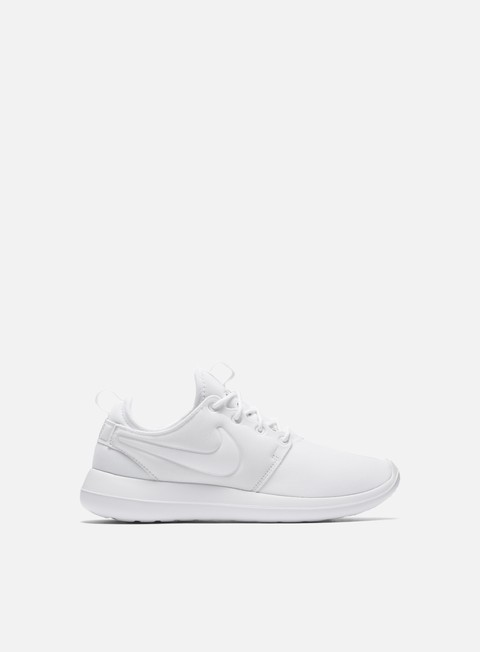 sneakers nike wmns roshe two white white pure platinum
