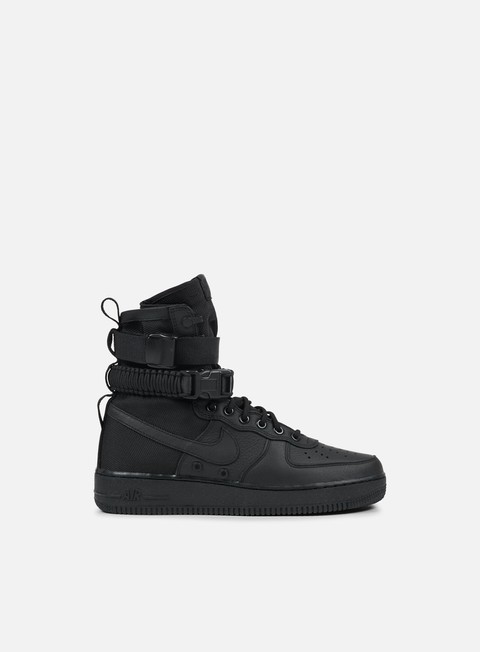 sneakers nike wmns sf air force 1 black black black