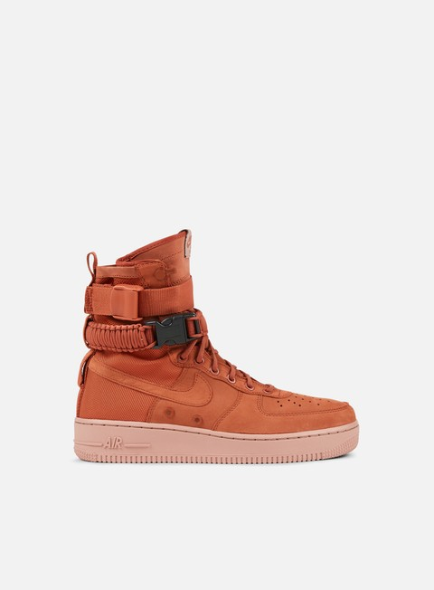 sneakers nike wmns sf air force 1 dusty peach dusty peach