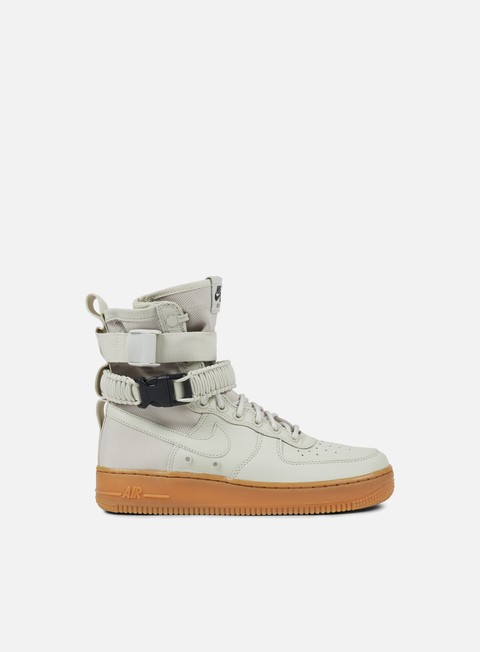 sneakers nike wmns sf air force 1 light bone light bone gum medium brown