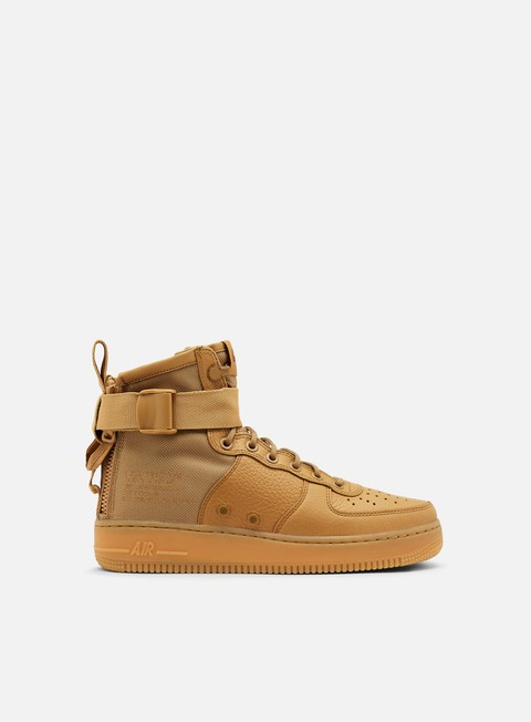 sneakers nike wmns sf air force 1 mid elemental gold elemental gold