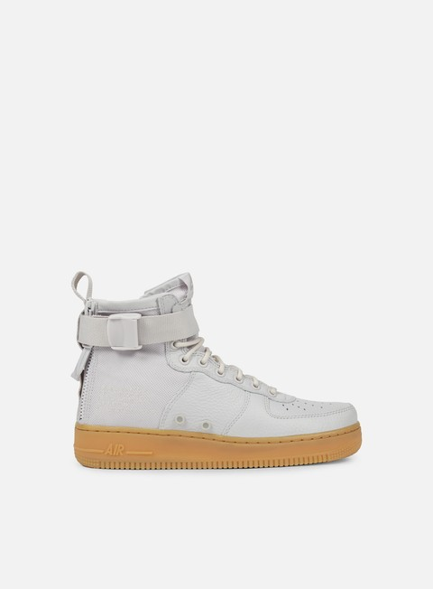 sneakers nike wmns sf air force 1 mid vast grey vast grey