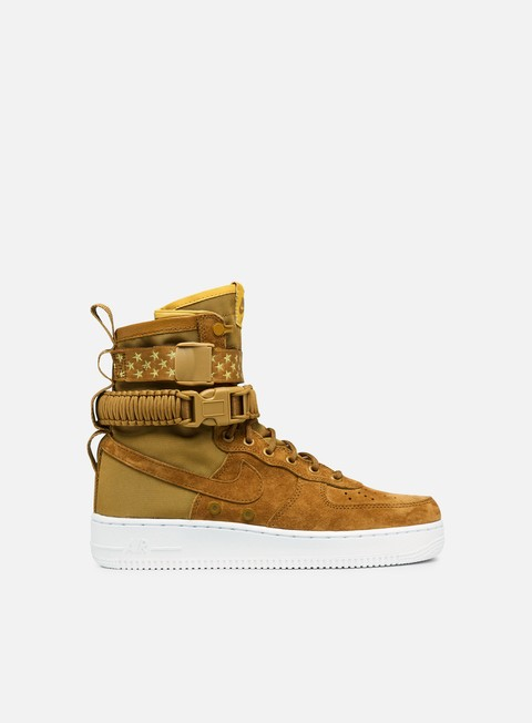 sneakers nike wmns sf air force 1 muted bronze muted bronze