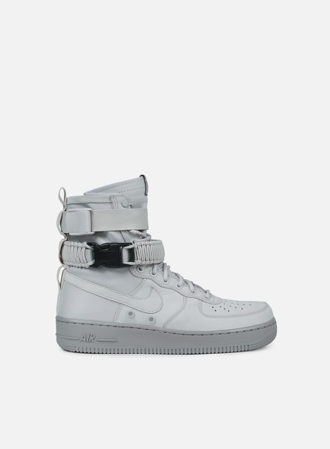 sneakers nike wmns sf air force 1 vast grey vast grey