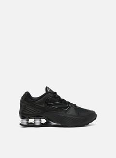 Nike - WMNS Shox Enigma, Black/Black/Metallic Silver