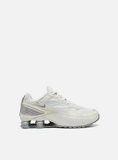 Nike - WMNS Shox Enigma, Phantom/Metallic Silver/White/Pale Ivory
