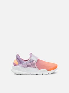 Nike - WMNS Sock Dart BR, Sunset Glow/White/Orchid 1