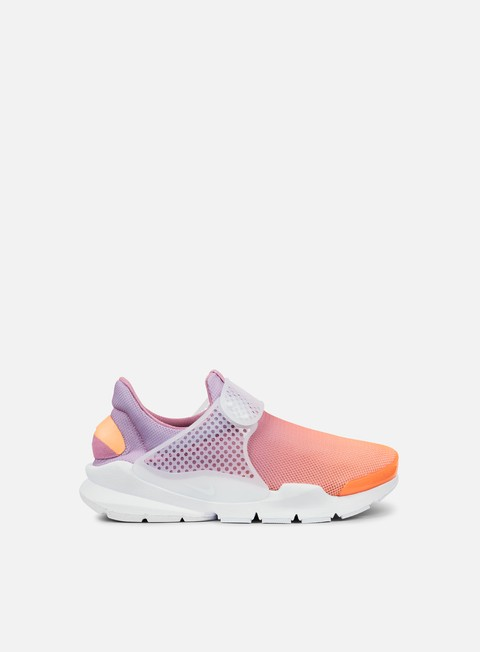 sneakers nike wmns sock dart br sunset glow white orchid