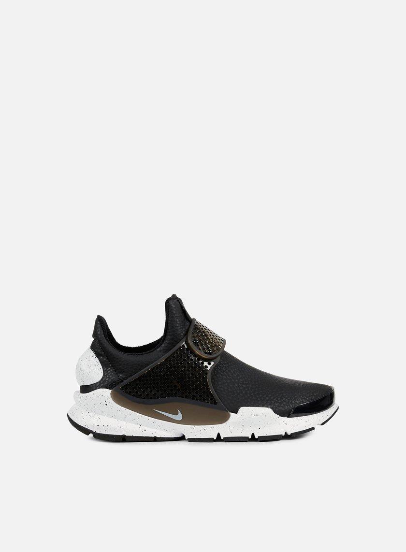 Nike - WMNS Sock Dart Premium, Black/White/Black