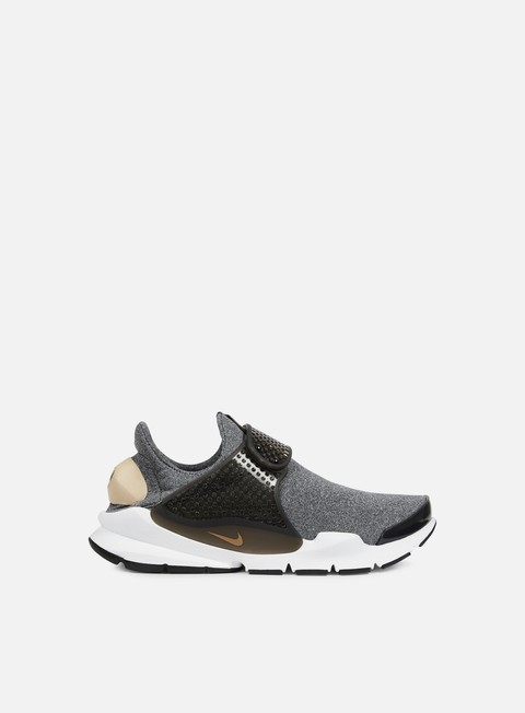 sneakers nike wmns sock dart se black vachetta tan black