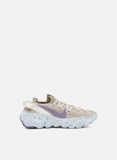 Nike - WMNS Space Hippie 04, Sail/Astronomy Blue/Fossil/Chambray Blue