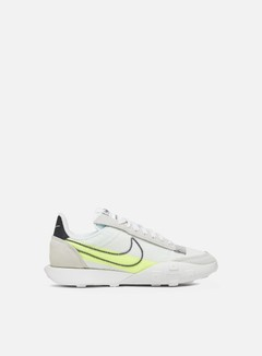 Nike - WMNS Waffle Racer 2X, Summit White/Black/Volt/Chrome