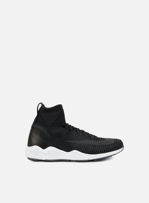 sneakers nike zoom mercurial xi flyknit black black white