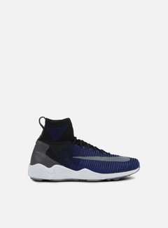 Nike - Zoom Mercurial XI Flyknit, Black/Dark Grey