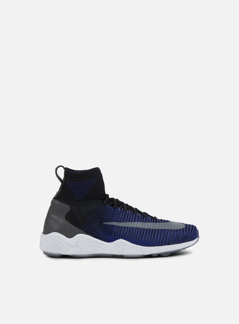 sneakers nike zoom mercurial xi flyknit black dark grey