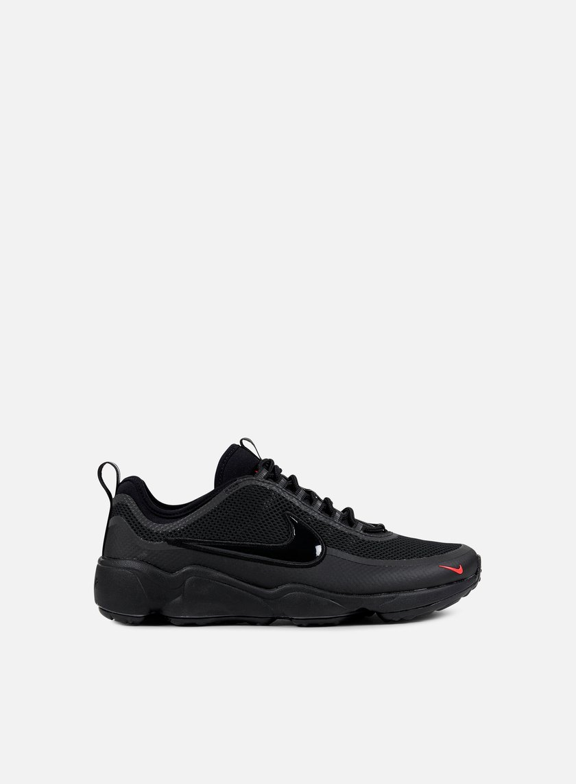 Nike - Zoom Spiridon Ultra, Black/Black/Bright Crimson