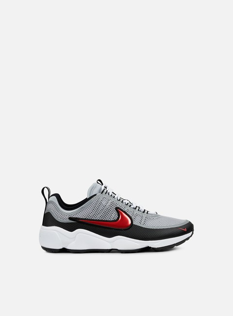 sneakers nike zoom spiridon ultra metallic silver desert red