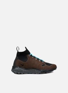 Nike - Zoom Talaria Mid Flyknit, Baroque Brown/Gamma Blue/Black
