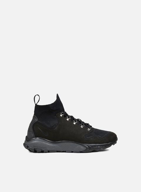 sneakers nike zoom talaria mid flyknit black black dark grey