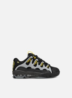 Osiris - D3 2001, Black/Yellow/Charcoal