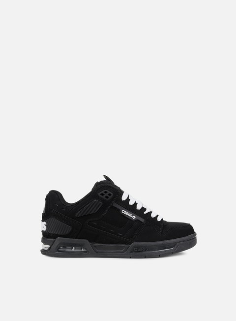 sneakers osiris peril black white