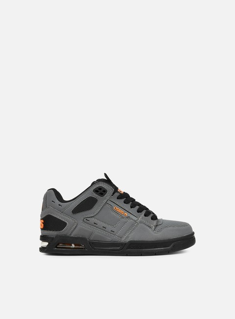 sneakers osiris peril charcoal black orange
