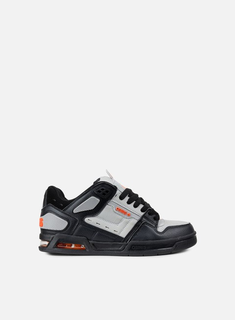 sneakers osiris peril light grey orange