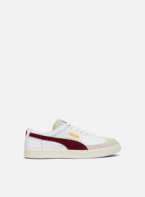 sneakers puma basket 90680 archive white pomegranate