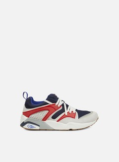 Puma - Blaze Of Glory Athletic, Black/Star White/High Risk Red 1