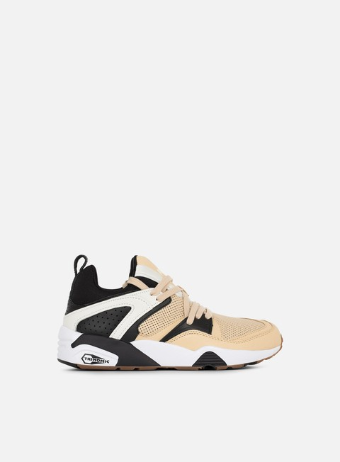 sneakers puma blaze of glory for monkey time ivory cream black star white