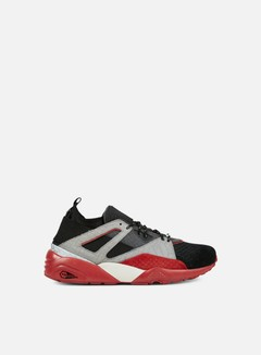 Puma - Blaze Of Glory Sock Rioja, Black/Asphalt/Barbados Cherry