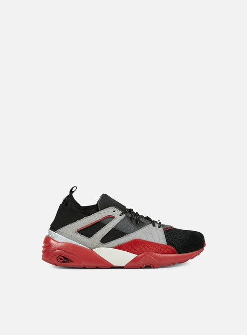 sneakers puma blaze of glory sock rioja black asphalt barbados cherry