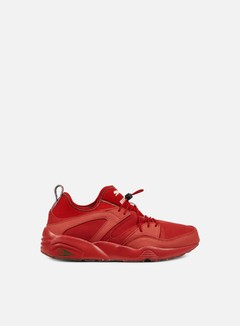 Puma - Blaze Of Glory Soft Flag, Barb Cherry/Veiled Rose/Amazon Green