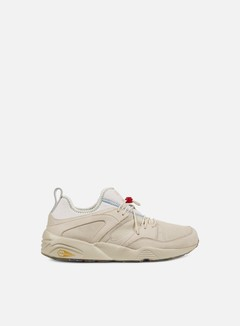 Puma - Blaze Of Glory Soft Flag, Birch/Amazon Green/Veiled Rose 1