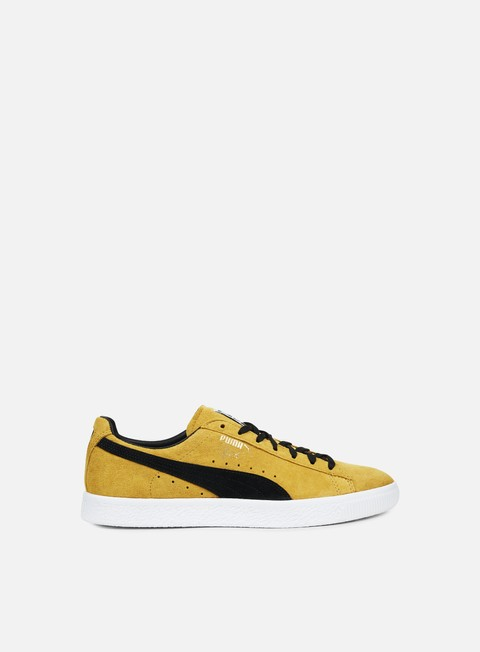 sneakers puma clyde bright gold puma black