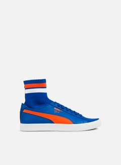 Puma - Clyde Sock NYC, Lapis Blue/Scarlet Ibis/Puma White