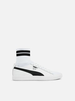 Puma - Clyde Sock NYC, Puma White/Puma Black