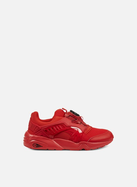 sneakers puma disc blaze ct high risk red