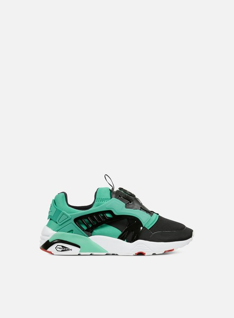 sneakers puma disc blaze electric spectra green puma black white