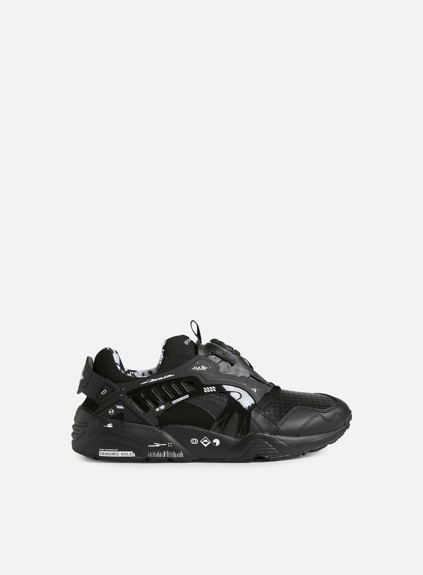 Puma - Disc by Graphersrock, Black