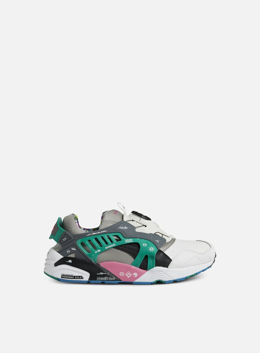 Puma - Disc by Graphersrock, White/Black